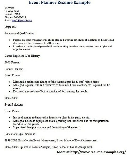 21 best Sample Resumes images on Pinterest | Sample resume, Resume ...