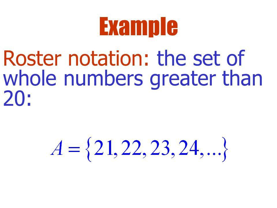 0-1: Set & Interval Notation Objective: Review set and interval ...