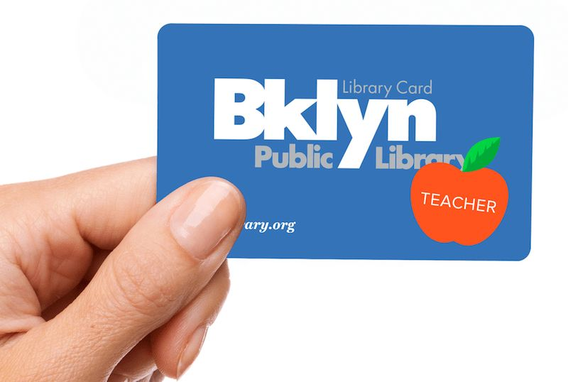 Teacher Library Card | Brooklyn Public Library