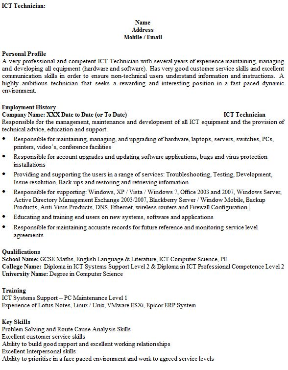 Lotus Notes Administration Cover Letter