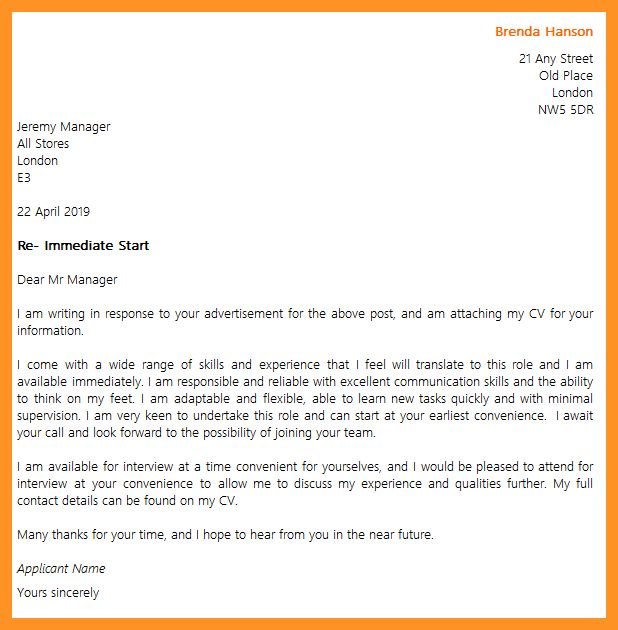 how to start a cover letter examples   bio letter format