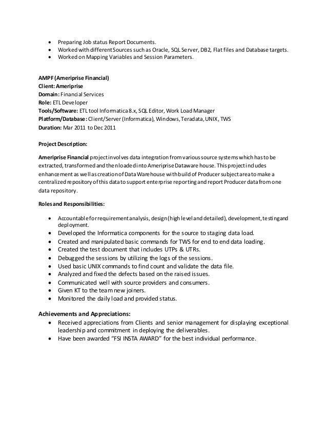 etl developer responsibilities megala resume new pharmmd etl