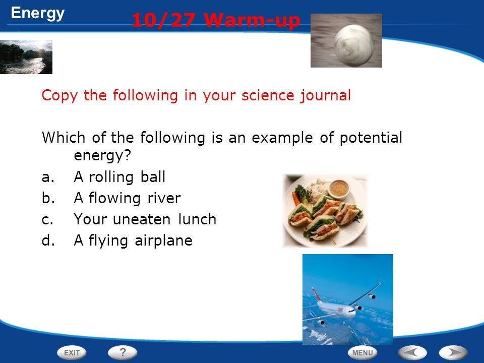 10/27 Warm-up Copy the following in your science journal - ppt ...