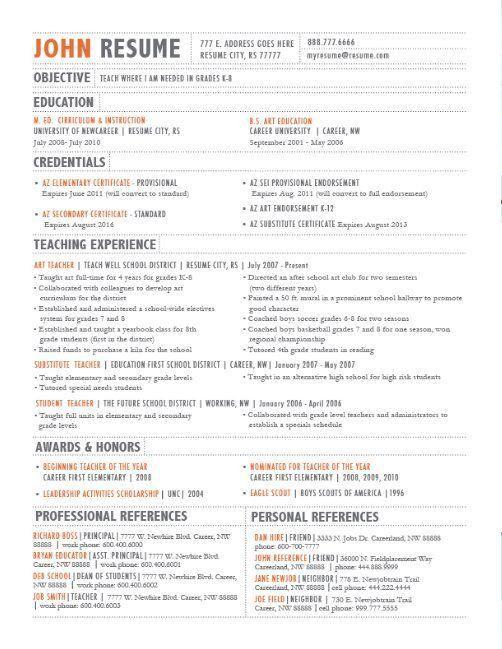 190 best Resume Design & Layouts images on Pinterest   Resume ...