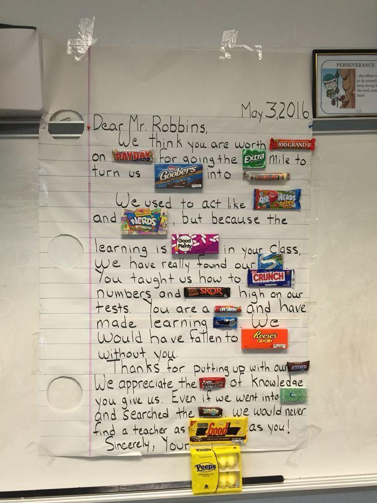Cele mai bune 25+ de idei despre Teacher appreciation letter pe ...