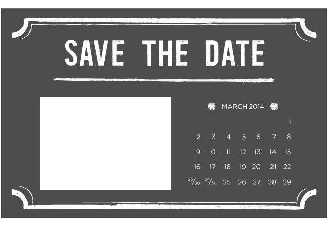 Save The Date Powerpoint Template - Reboc.info