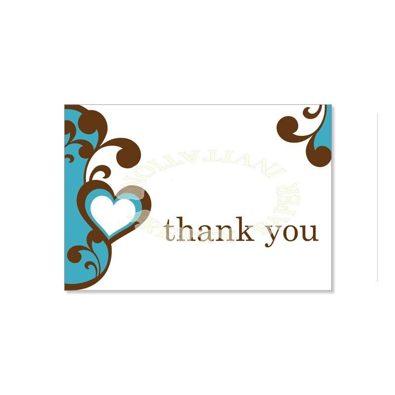 Wedding Thank You Card Templates Word
