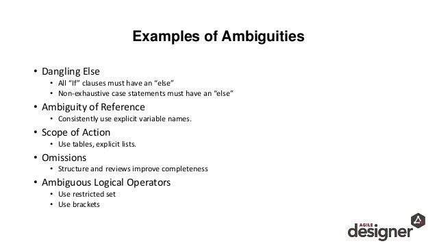 Ambiguous Requirements – Translating the message from C-level to impl…
