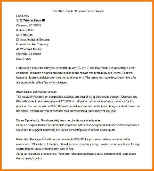 Proposal Letter Template. Business Proposal Template 13 30+ ...
