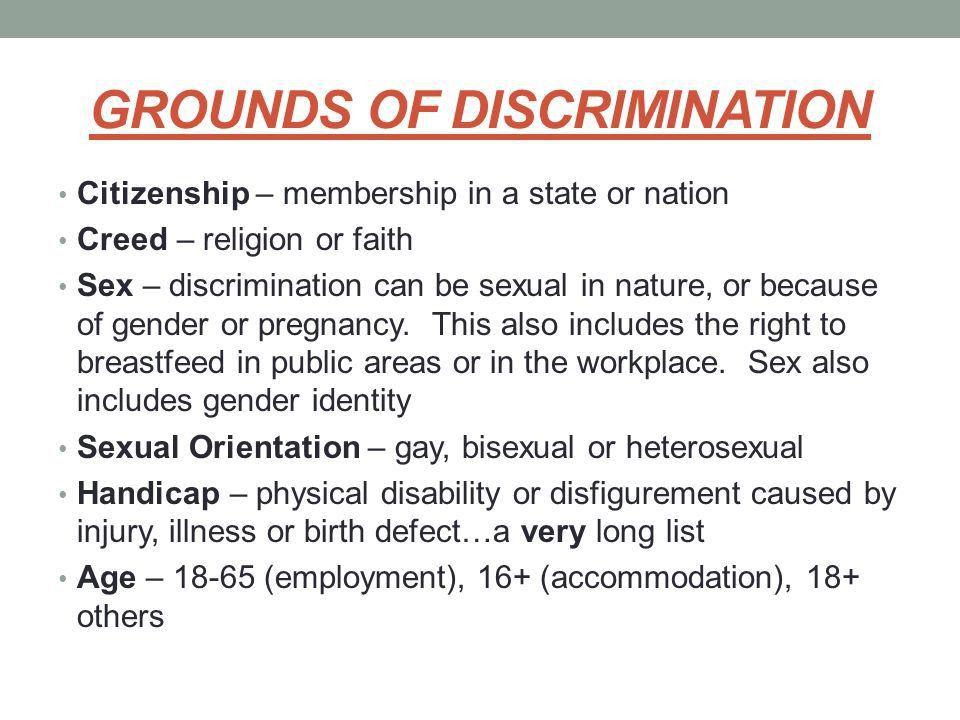 ONTARIO HUMAN RIGHTS CODE. HUMAN RIGHTS HUMAN RIGHTS – Fundamental ...