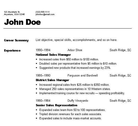 various resume formats resume cv cover letter. sample resume ...
