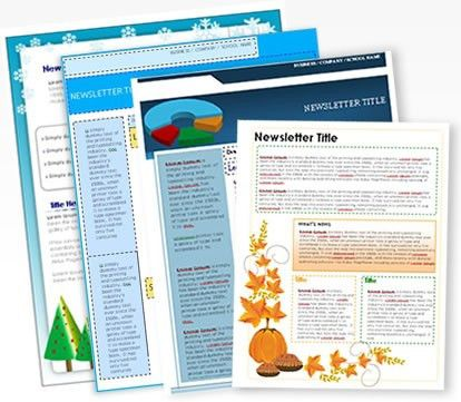 Free Newsletter Templates | peerpex