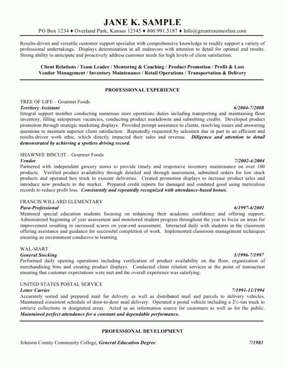 Cosy General Resume Objective 8 General Objectives For A Resume ...