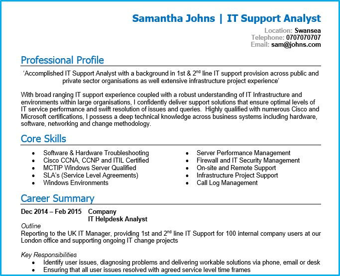 it network administrator sample resume sample sales plan template ...