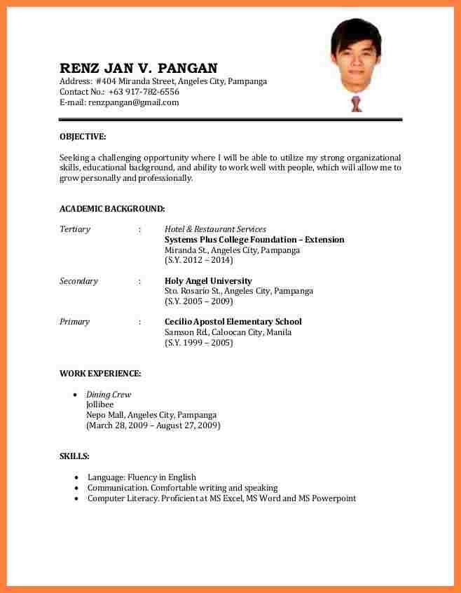 7+ best cv for job application | Bussines Proposal 2017