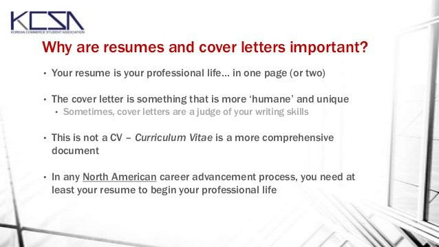 Peachy Ideas How Important Is A Cover Letter 4 Resume And Workshop ...