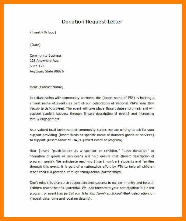 5+ donation request letter template | nurse homed