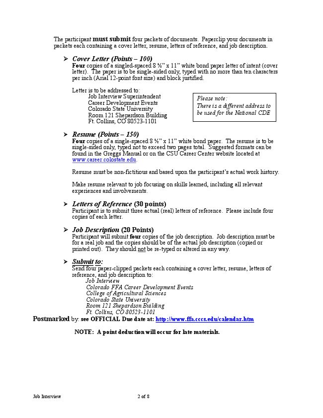 Job Interview - LiveBinder