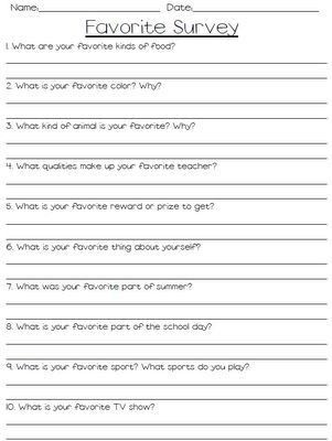 Best 25+ Student interest survey ideas on Pinterest | Student ...