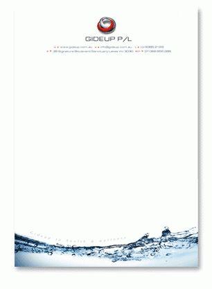 Letterhead design samples letterhead printing stationery printers ...