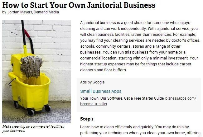 Starting a Cleaning Business: Janitorial Supplies in Louisville