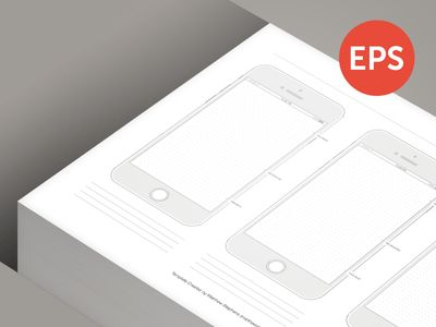 Free Printable iPhone 6 Template by Matthew Stephens - Dribbble