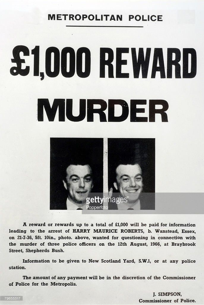 Police Killer Harry Roberts To Be Released Photos and Images ...
