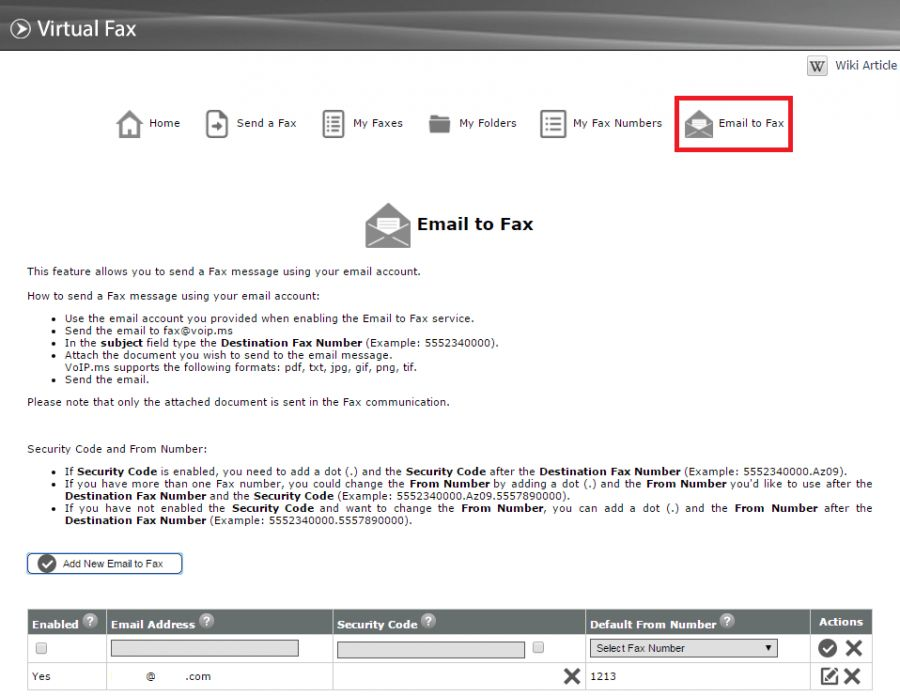 Virtual Fax - VoIP.ms Wiki