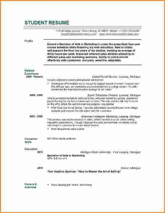 6+ graduate student resume examples | Invoice Template Download
