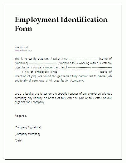 7+ employment verification template | memo templates