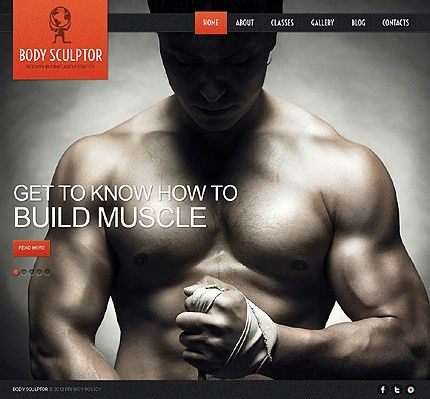 Responsive Sports & Sports Club Joomla Templates - Chess, Gym ...