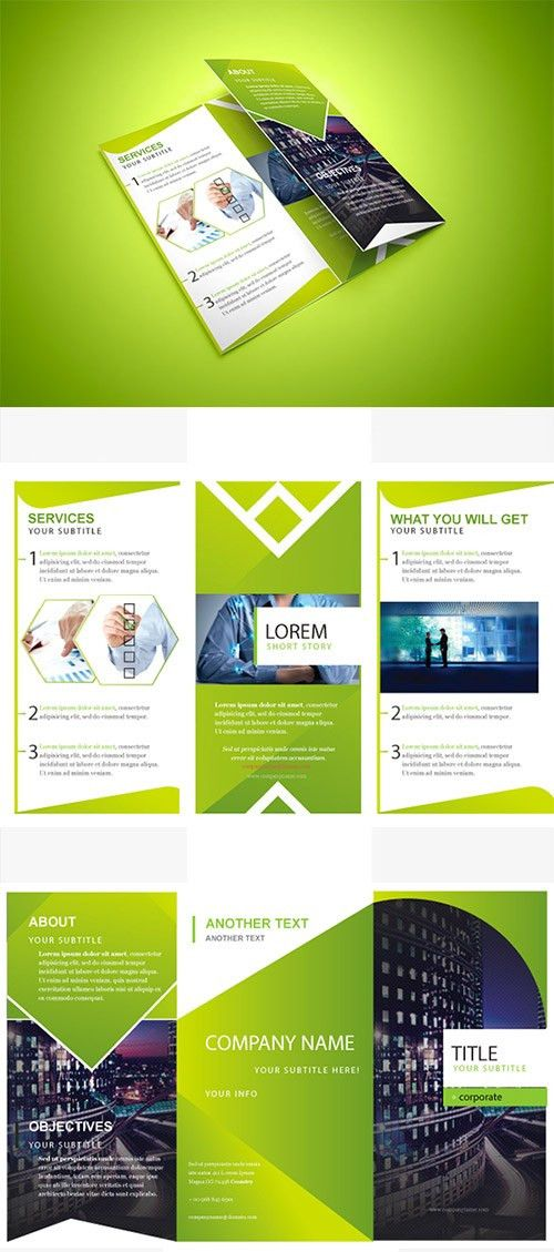 30 Creative Examples of Tri-Fold Brochure Designs | Naldz Graphics