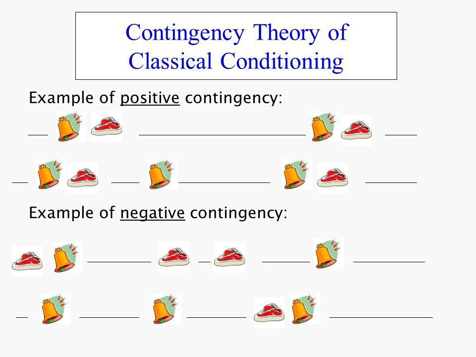 Contingency Theory of Classical Conditioning - ppt video online ...