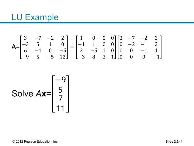 Lecture 6 lu factorization & determinants - section 2-5 2-7 3-1 and…