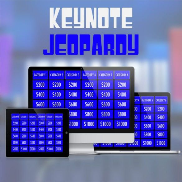 Jeopardy Template Keynote – 6+ Free PPT Documents Download! | Free ...