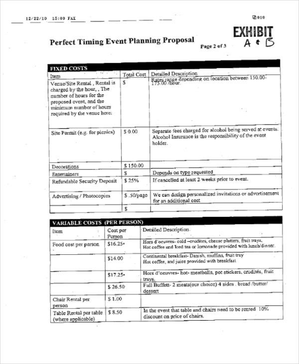 34+ Free Proposal Templates | Free & Premium Templates