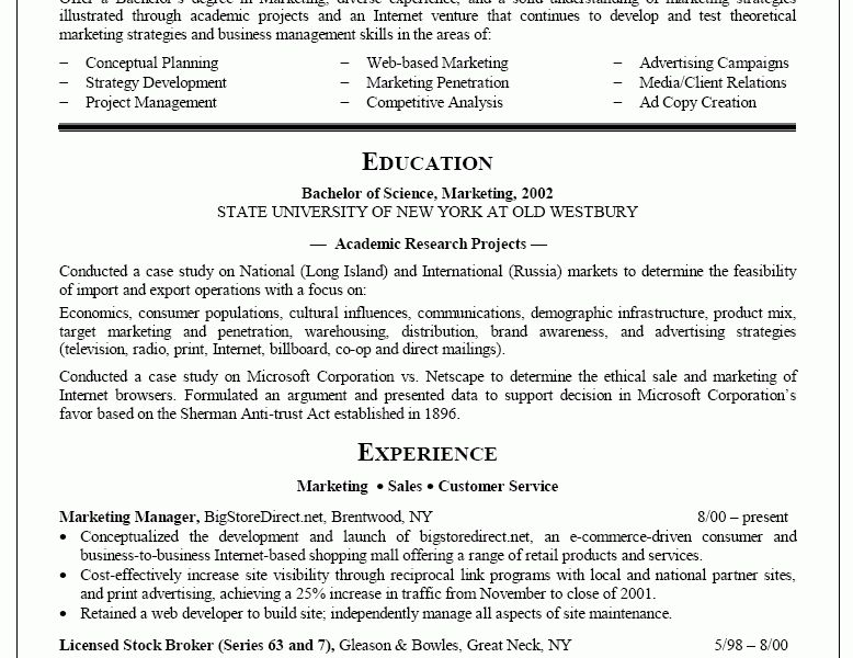 smartness recent college graduate resume 10 sample cover letter ...