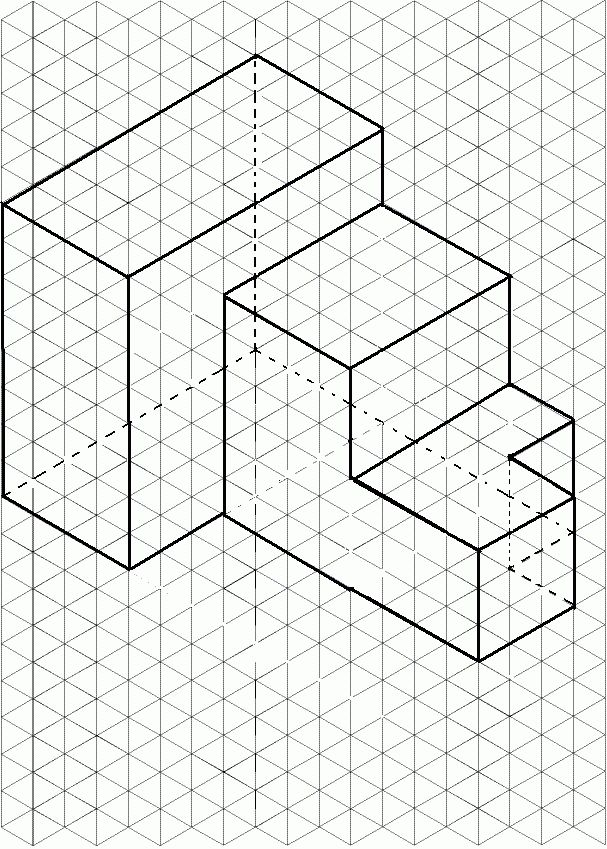 Isometric Drawing | Engineering | Pinterest | Isometric drawing ...