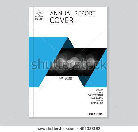 Vector Brochure Template Annual Report Cover Stock Vector ...