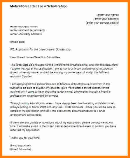 7+ letter for masters scholarship | ledger paper