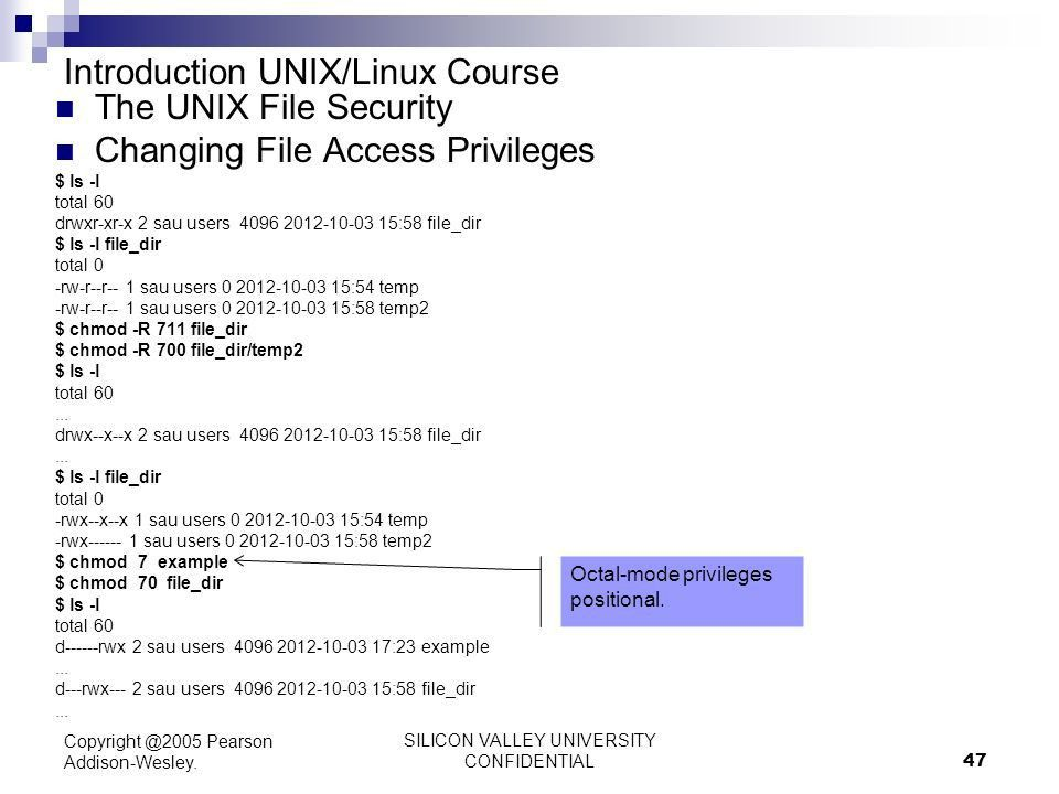 Introduction to UNIX / Linux ppt download