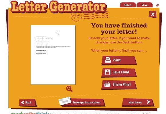 Letter Generator | Free Business Template