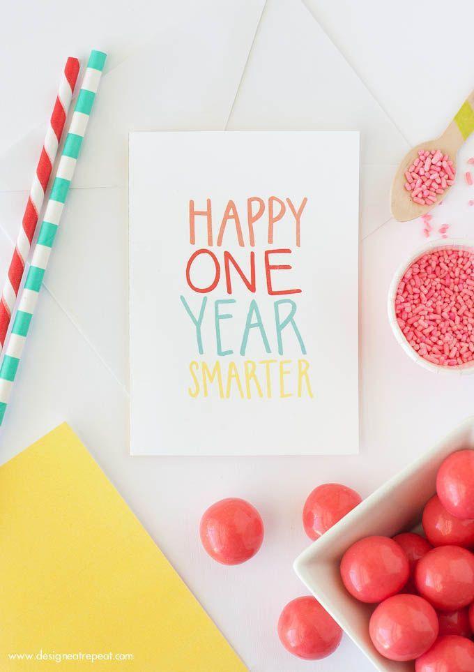 Best 25+ Free printable birthday cards ideas on Pinterest ...