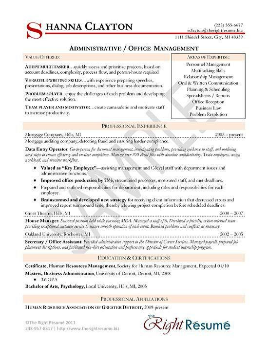 resume marketing profile cv samples of career objective layout ...