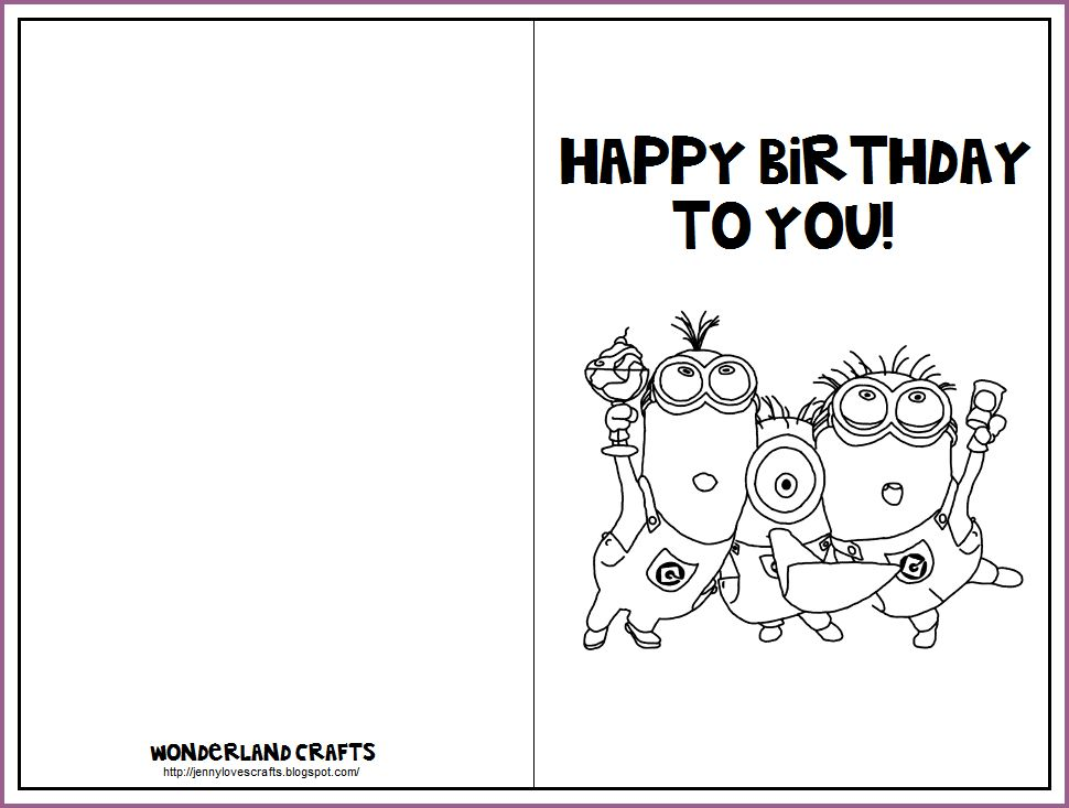 BIRTHDAY CARD TEMPLATES | designproposalexample.com