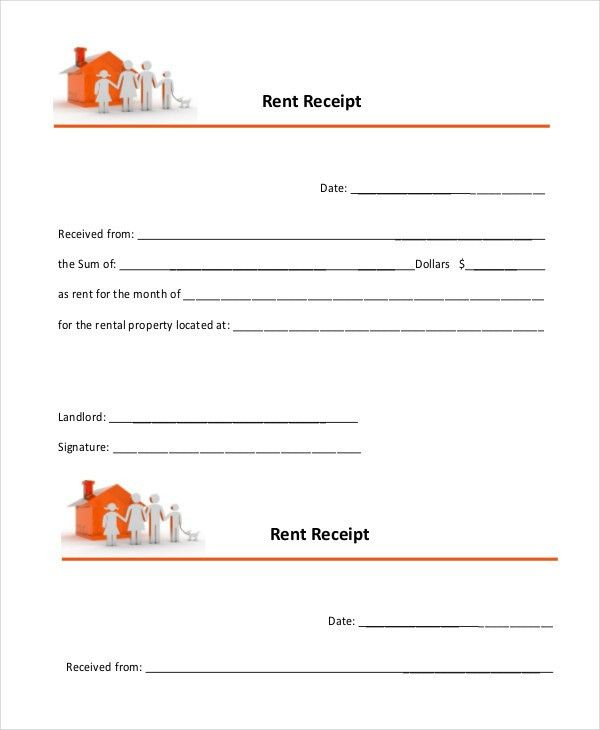 Rent Receipt - 9+ Free Word, PDF Documents Download | Free ...