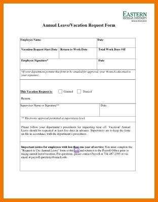 10+ leave request form | postal-carrier
