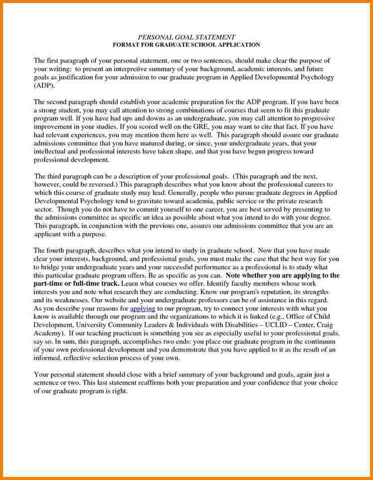 7+ graduate school personal statement examples | attorney letterheads