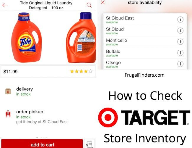 to Check Target Store Inventory