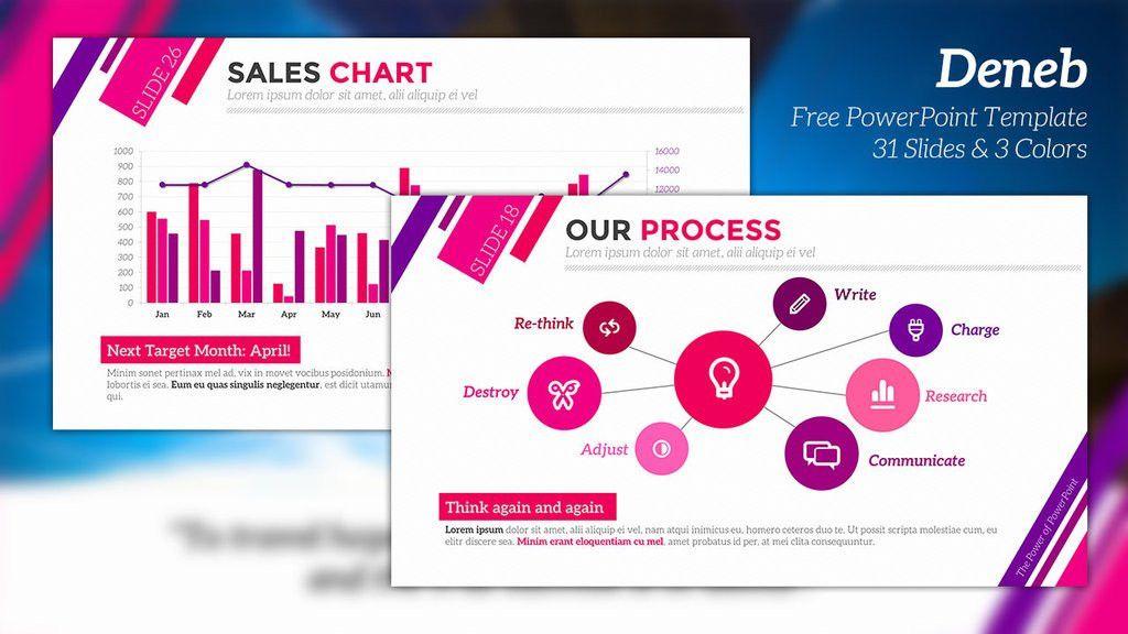 Deneb - Free PowerPoint Template by JunAkizaki on DeviantArt